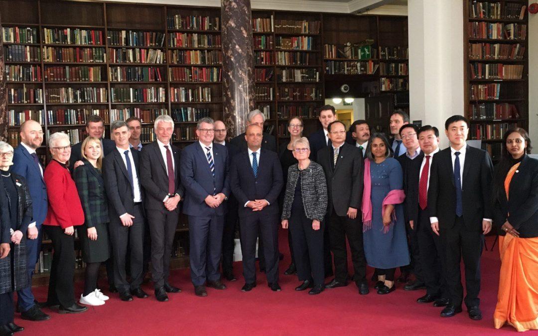 Londres – Première Assemblée parlementaire pour l'Antarctique – Mobilisation des parlementaires en faveur de l'Antarctique